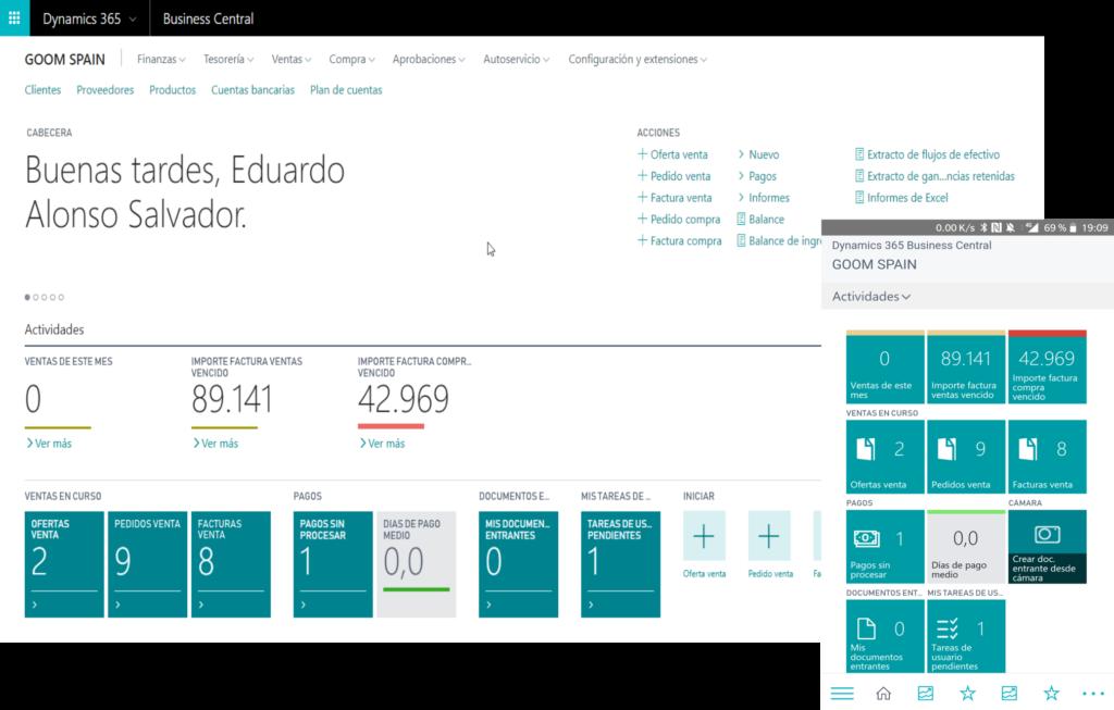 tienda online software finanzas